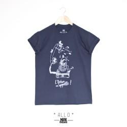T-shirt homme ALLO sérigraphié