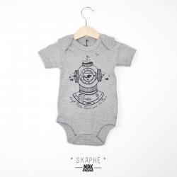 Body bébé mixte  SKAPHE...