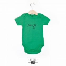Body vert JADIS bébé garçon...