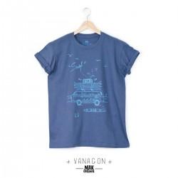 T-shirt homme VANAGON bleu...