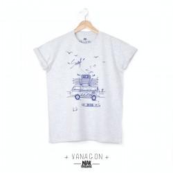 T-shirt homme VANAGON blanc...