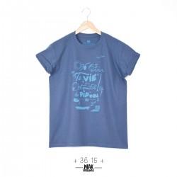 T-shirt homme 36 15 bleu...
