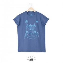 T-shirt homme K7 bleu...