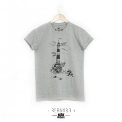 Tee shirt gris chiné...