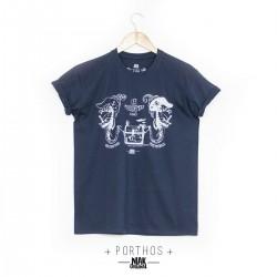 T-shirt PORTHOS sérigraphié...