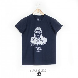 T-shirt JACQUES bleu marine...