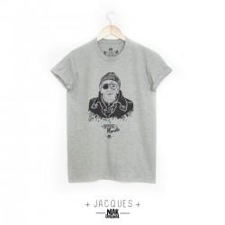 T-shirt gris chiné JACQUES...