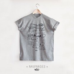T-shirt homme NAUFRAGES...