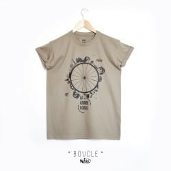 T-shirt homme BOUCLE roue...