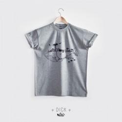 T-shirt homme DICK sérigraphié