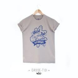 Tee shirt homme CASSE-TOI...