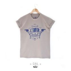 T-shirt homme GRIL sérigraphié